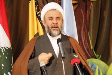 Deputy chief of Hezbollah's Executive Council Sheikh Nabil Qawook