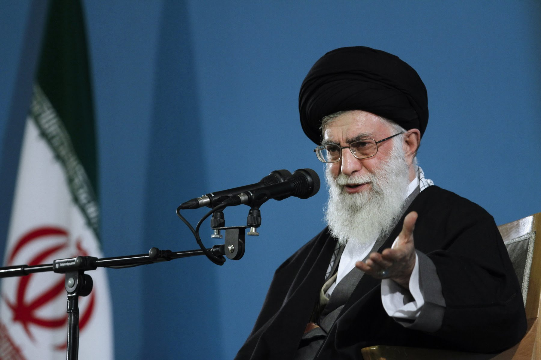 Supreme Leader of the Islamic Revolution in Iran, Imam Sayyed Ali Khamenei