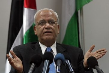 Saeb Erekat, secretary general of the Palestine Liberation Organization
