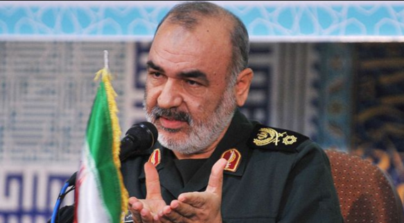 Iranian deputy Revolutionary Guards commander Hossein Salami