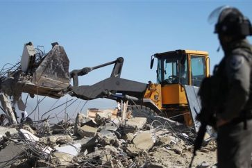 IOF demolishes Palestinian
