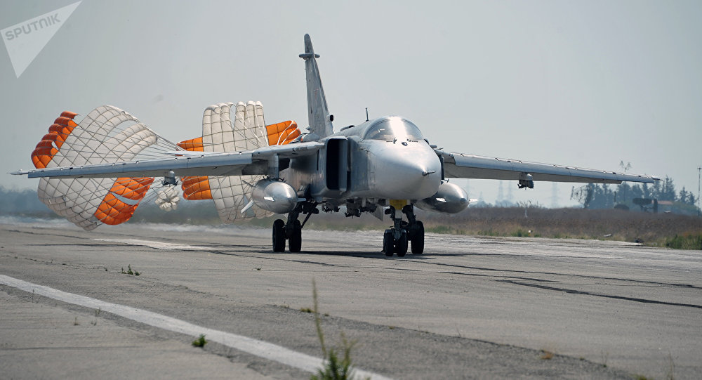 Russian fighter jet crashes in Syria, killing all aboard