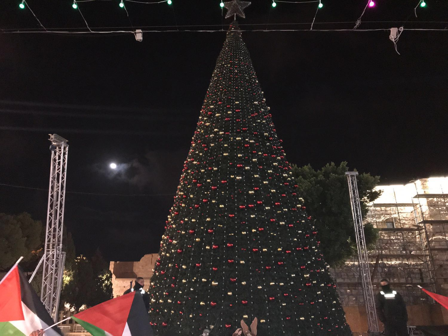 bethlehem lighting christmas trees. Xmas Tree Bethlehem Lighting Christmas Trees