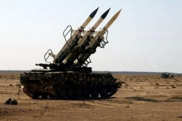 Syria air defenses