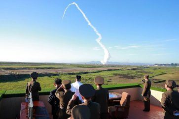 North Korea Fires Projectiles