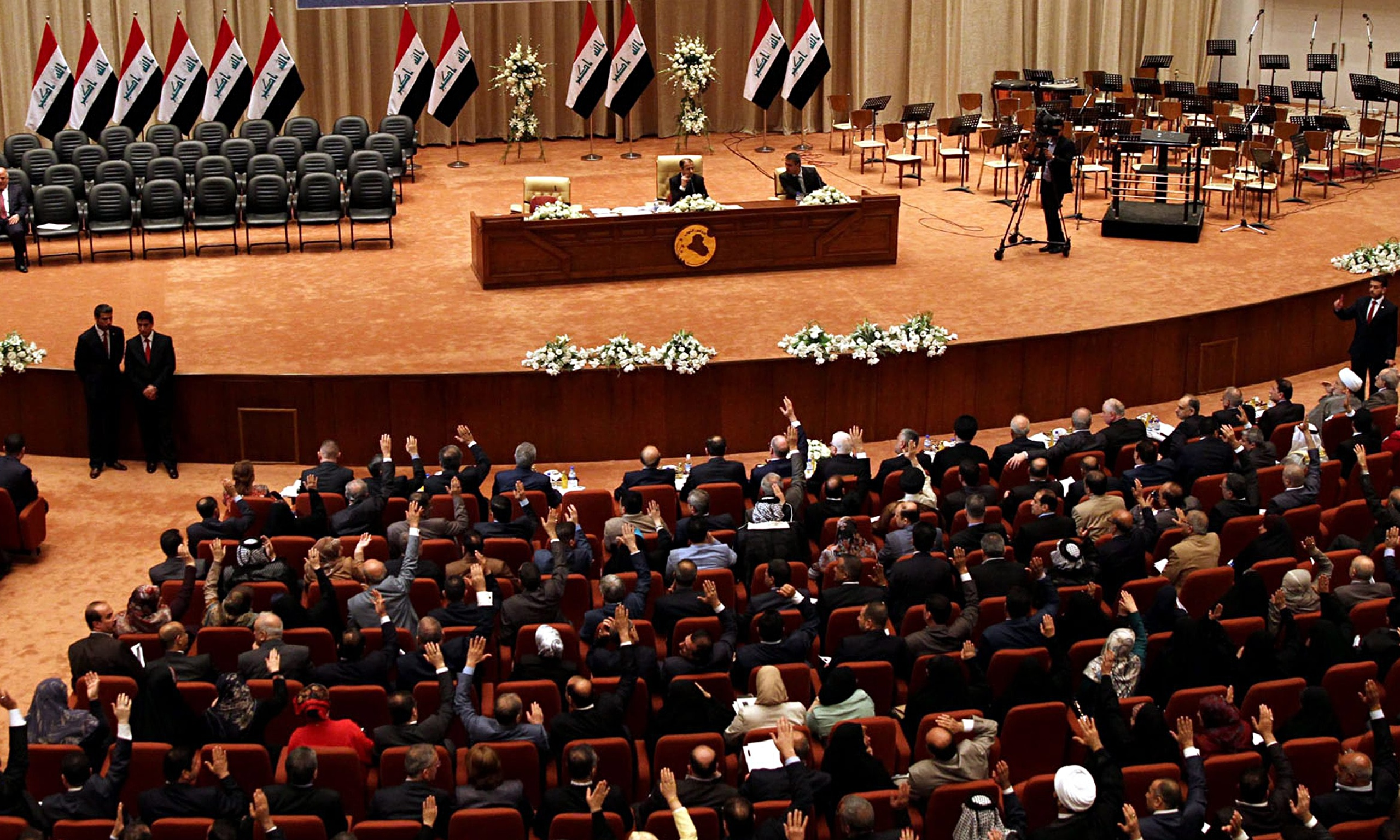 Iraqi parliament vote