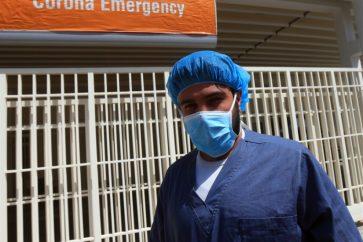 coronavirus dept Rafiq Hariri University Hospital Lebanon