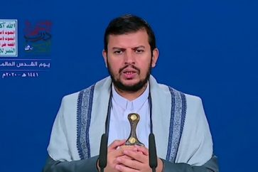 Leader of Yemen's Ansarullah Movement Sayyed Abdul Malik Al-Houthi